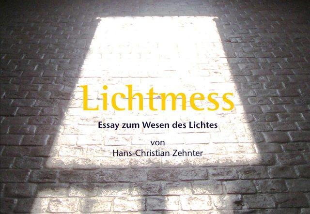 Buch-Layout und Satz: Lichtmess