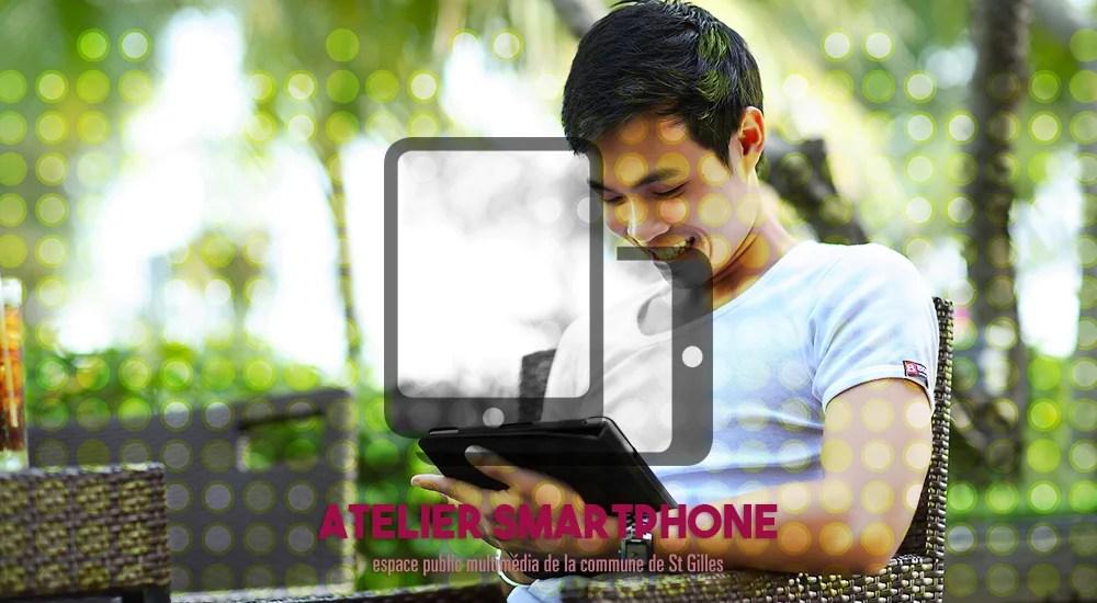 Atelier utilisation de tablette & smartphone   18 & 19 février