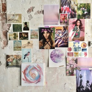 Mood board, inspiration