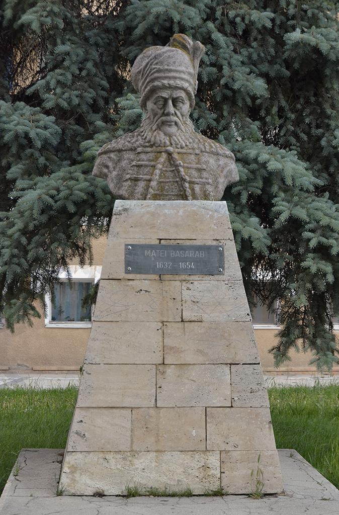 Bustul Domnitorului Matei Basarab
