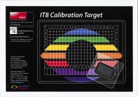 LaserSoft Imaging IT8 Calibration Target envelope only