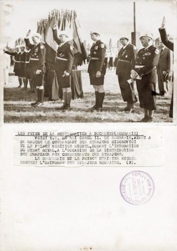 Sărbătoarea Unirii la București (România).
