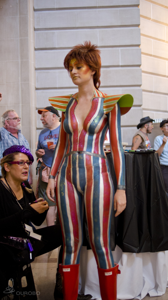Body Painting From SF Pride 2014 VIP Event Atelier Emmanuel
