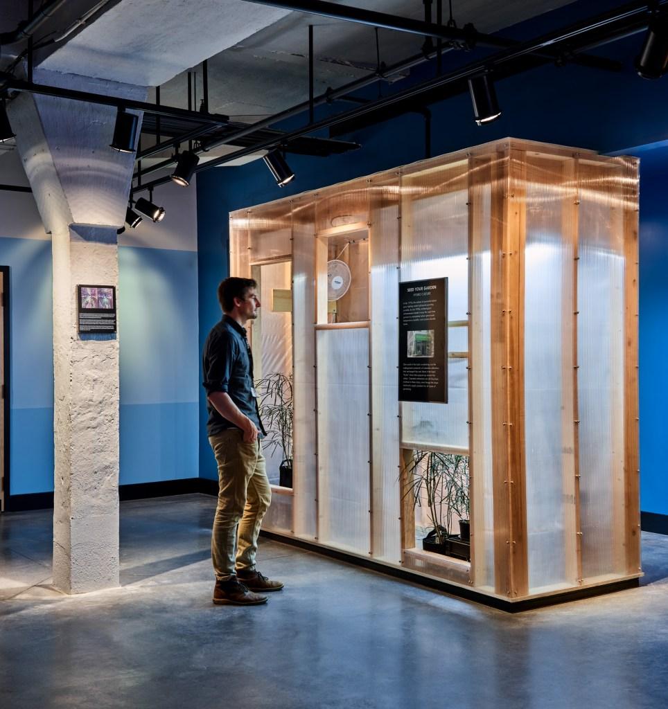 Core Social Justice Museum grow exhibit