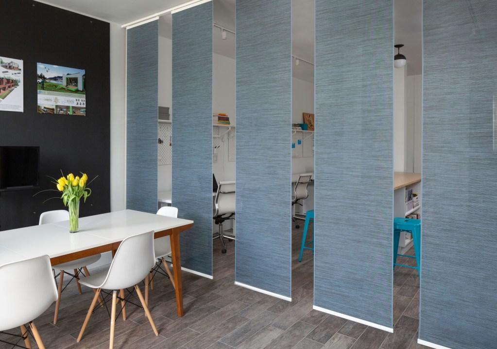 workplace interior design privacy screen