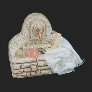 décors de crèche – Santons – mini fontaine tissus – Aubagne.jpg
