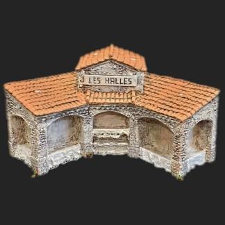 Maison de village – halles vides de Provence – Atelier de Fanny – Santon – Santons – Décors de crèche – Aubagne – Provence – Crèche de Provence – Santon de provence.jpg