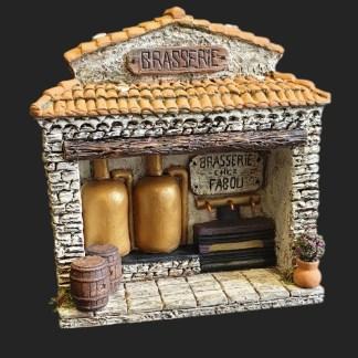 brasserie – – Santon – décors de crèche – accessoires pour santons de provence – Atelier de Fanny – aubagne – article du blog