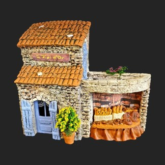 boulangerie- atelier de Fanny – Aubagne -provence – santon de provence -santon – décors de provence – décors de crèche – crèches de Provence- accessoire de Provence -artisan – made in france – france