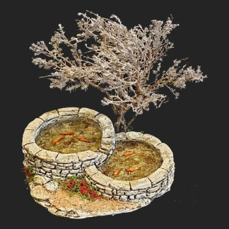 Atelier de fanny – santon – décors de crèche – santon de Provence – santon d'aubagne – aubagne – provence – région – made in france – l'artisanat- bassin – poissons