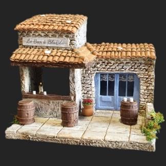 atelier de Fanny – santon – crèche – décors de crèche de provence – aubagne – santon aubagne – le bar à Blabla