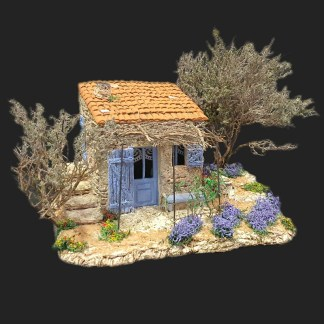 Atelier de Fanny – Aubagne -provence – santon de provence -santon – décors de provence – décors de crèche – crèches de Provence- cabanon de Provence -artisan – made in france