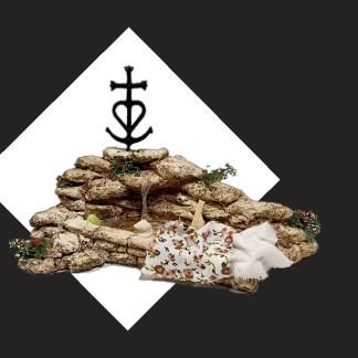 lier de Fanny – Aubagne -provence – santon de provence -santon – décors de provence – décors de crèche – crèches de Provence- accessoire de Provence -artisan – made in france – lavoir croix de camargue