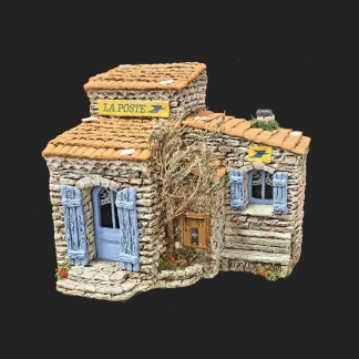 La Poste – atelier de Fanny – Aubagne -provence – santon de provence -santon – décors de provence – décors de crèche – crèches de Provence- accessoire de Provence -artisan – made in france – france