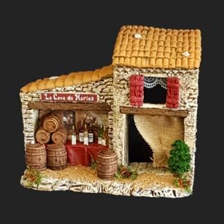 Cave de marius de provence – atelier de Fanny – Aubagne -provence – santon de provence -santon – décors de provence – décors de crèche – crèches de Provence- accessoire de Provence -artisan – made in france – france