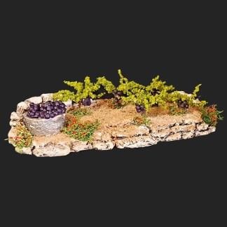 – atelier de fanny – décors de crèche – aubagne – santons 7 cm