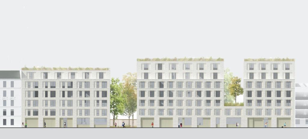 l atelier fuso en collaboration avec r architecture laureats du concours construction de la residence sociale marc seguin de 268 logements plai a paris