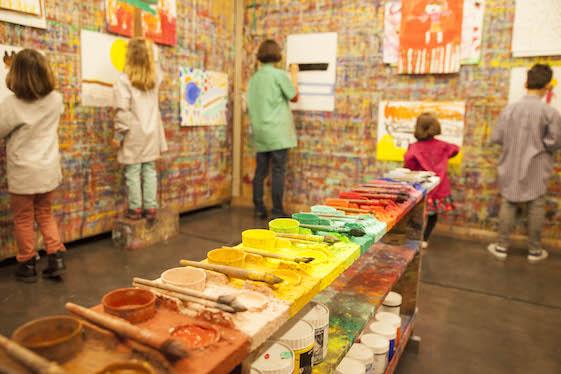 Le Jeu de peindre à l'Atelier Gouache : stages de vacances