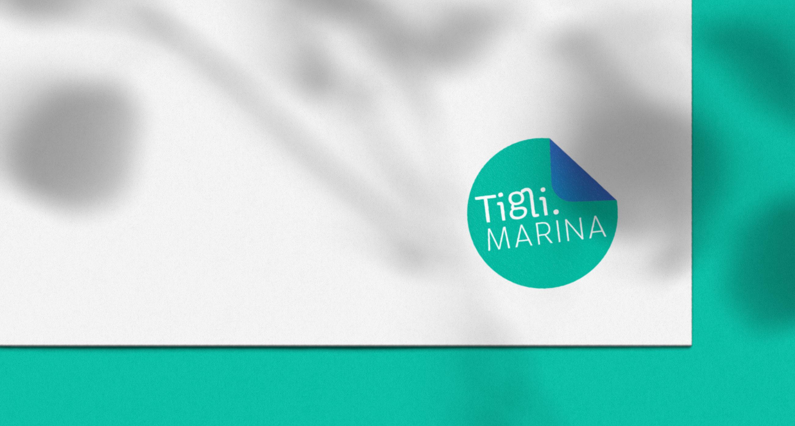 Le nouveau logo de Marina Tigli