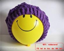 Căciulă tricotată pt adulți 10%reducere ->72 lei