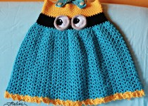 crochet-minion-dress