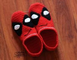 crochet-deadpool-slippers