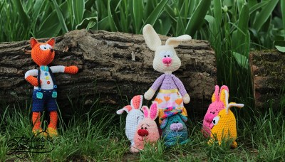 crochet-easter-bunnies