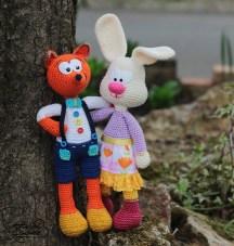 crochet-fox-bunny-pattern