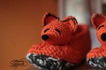 crochet-slippers-fox