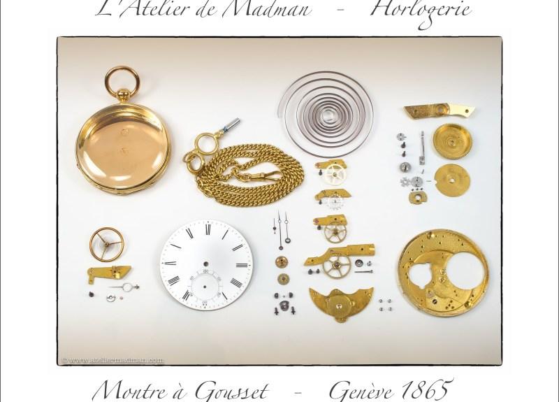 Montre de poche - Genève 1865
