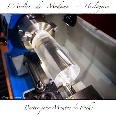 Le résultat est bien meilleur qu'avec les burins carbure, 500 t/min sans lubrification.