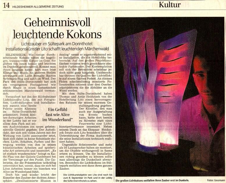 HiAZ Ausstellung im sülte dorint Hotel 2001