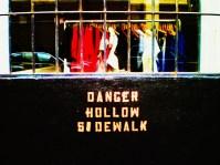 Danger Below © Louis Armand