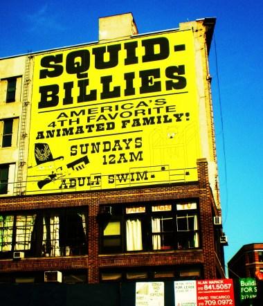 Squid Billies © Louis Armand