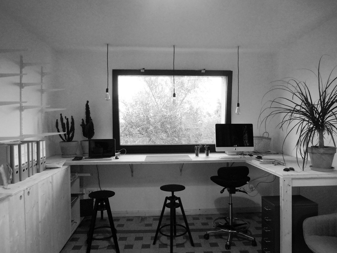 Photo du bureau de l'Atelier L.