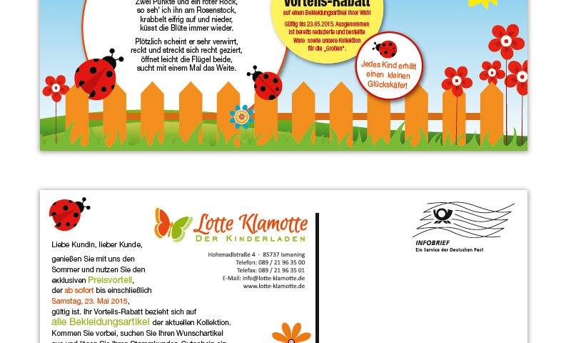 Mailing Lotte Klamotte