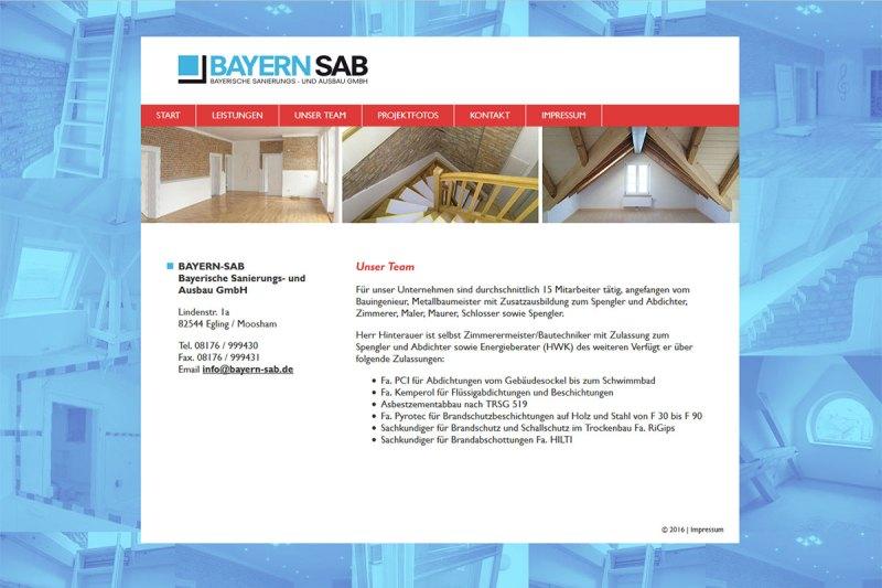 Webdesign Bayern SAB
