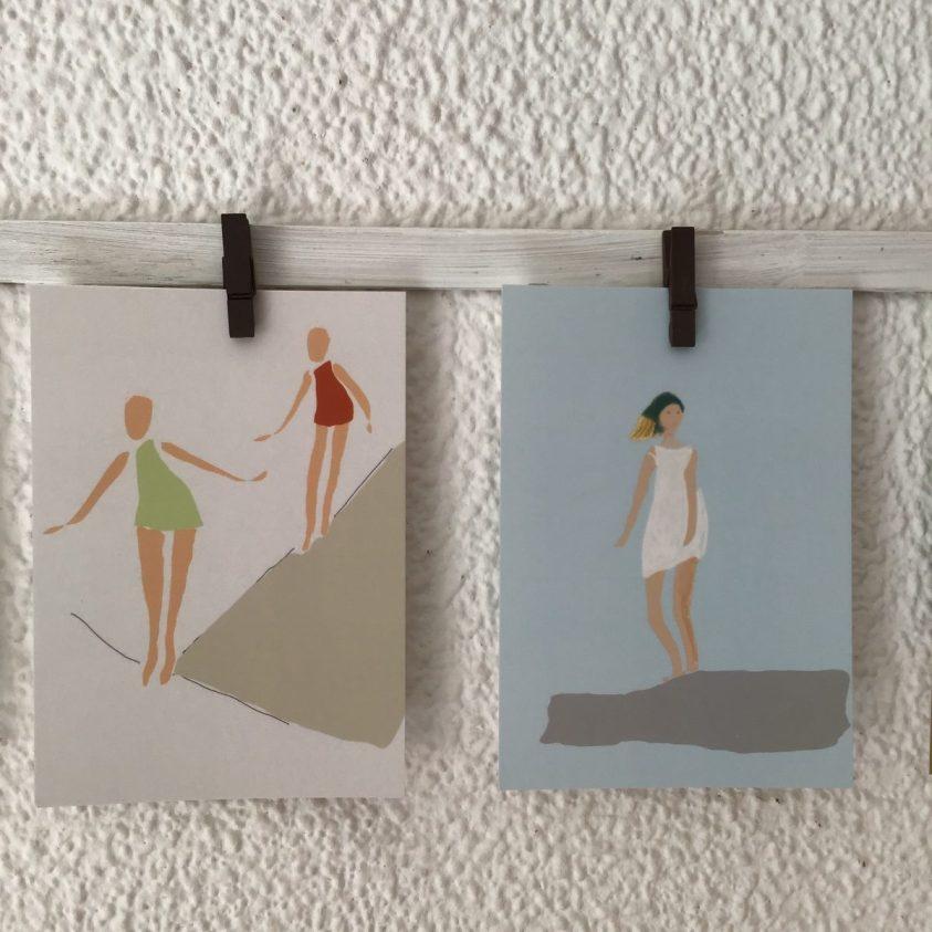 cartes postales création édition limitée