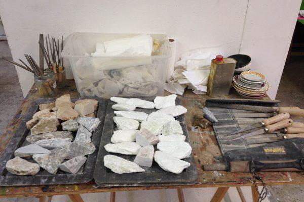 beeldhouw workshop
