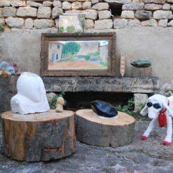 beeldhouwen in frankrijk eindresultaat