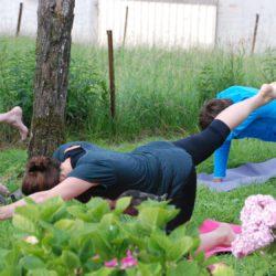 yoga voor het ontbijt