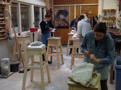 beeldhouwworkshop