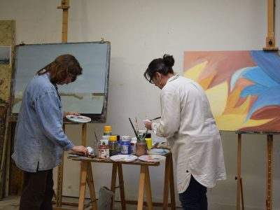 schilderen in olie en acryl