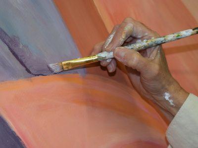 schilderen op canvas