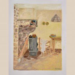 stilleven van de keuken