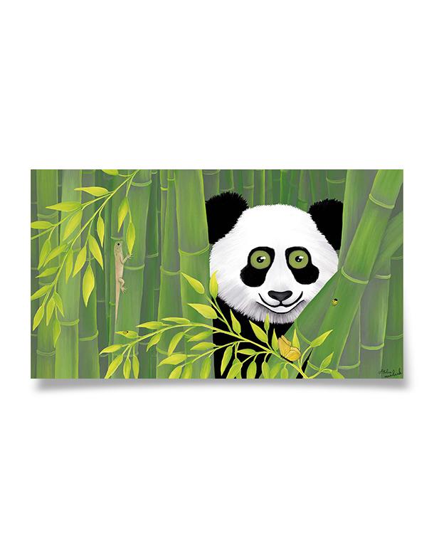affiche-decoration-coloree-enfant-panda