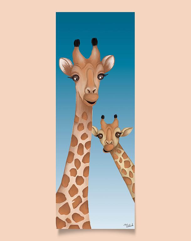 tableau-decoration-originale-enfant-girafes-110x40