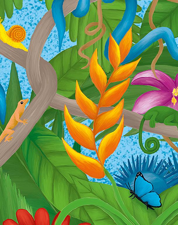 zoom-jungle-affiche-tableau-décoration-enfant-coloré-animaux