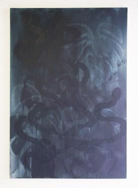 Frédéric Houvert // La Charmeuse de serpents // techniques mixtes sur toile / 2012
