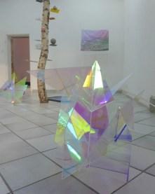 Talisman // Fanny Maugey // plexiglass radiant // dimensions variables // 2013